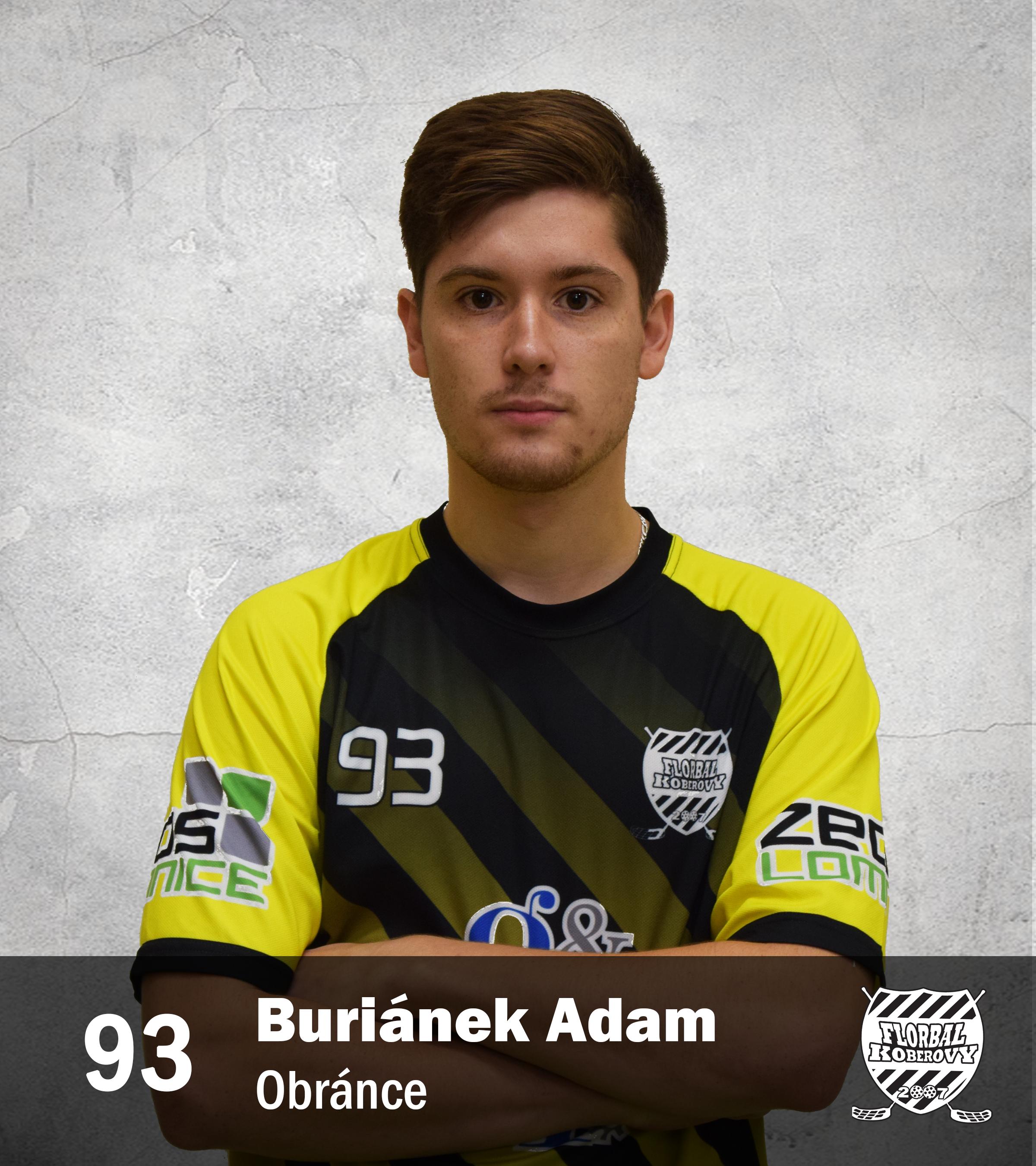 93 Buriánek Adam