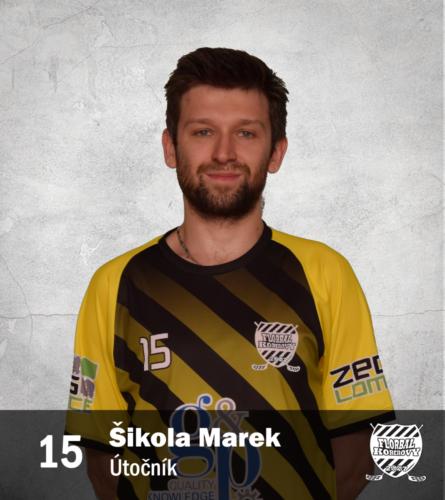 15 Marek Šikola